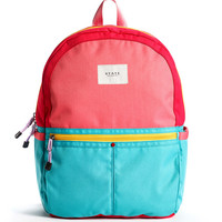 The Kane Backpack in Pink and Mint