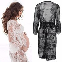 Maternity Photography Props Pregnant Dress