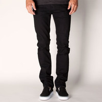 Rsq London Mens Skinny Jeans Over Dye Black  In Sizes