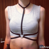 Heart body harness