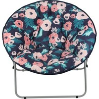 Mainstays Oversize Saucer Chair, Multiple Patterns Available - Walmart.com