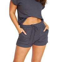 Staying In Charcoal Shorts