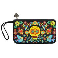 Mexican Embroidery Carrie Clutch