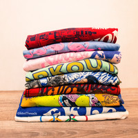 -Mystery Vintage Graphic Oversized T Shirts
