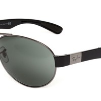 Ray Ban RB3509 Unisex Black Sunglasses 0715