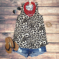 WILD ABOUT LEOPARD TANK
