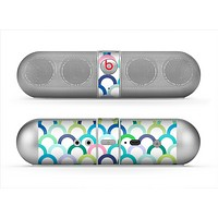 The Vibrant Fun Colored Pattern Hoops Skin for the Beats by Dre Pill Bluetooth Speaker