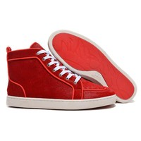 Christian Louboutin Women Men Fashion Casual Sneakers Sport Shoes-29