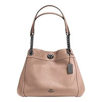 COACH Womens Turnlock Edie