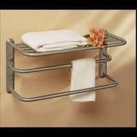 Nickel Towel Racks | Easy Home Concepts