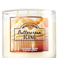 3-Wick Candle Buttercream Icing