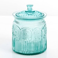 The Pioneer Woman Adeline Glass Cookie Jar - Walmart.com