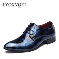 Men Dress Shoes/Luxury Leather Oxfords