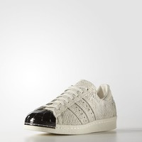 adidas Superstar 80s Metal Toe Shoes - White | adidas US