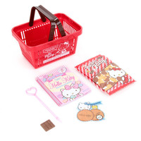 Hello Kitty Stationery Set: Basket