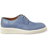 PRODUCT - Maison Martin Margiela - Washed-Leather Derby Shoes - 395470 | MR PORTER