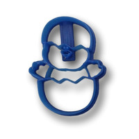 Baby chicken easter egg Cookie Cutter