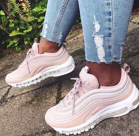 Image of NIKE AIR MAX 97 Sport Shoes Women Men Sneakers Running Shoes