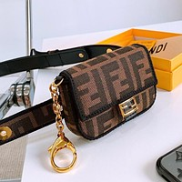 Onewel Fendi New belt bag mini bag  lipstick coin purse (removable belt for separate use)