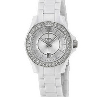 FOSSIL® Women's White Band Watch