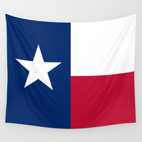 """The State flag of Texas - The """"Lone Star Flag"""" of the """"Lone Star State"""" Authentic Version Wall Tapestry by LonestarDesigns2020 - Flags Designs +"""