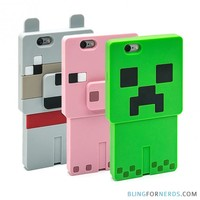 Minecraft iPhone Cases