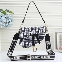 Dior Women's Canvas Waist Bag Shoulder Bag Messenger Bag