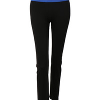 LE3NO Womens Slimming Athletic Full Length Yoga Pants (CLEARANCE)