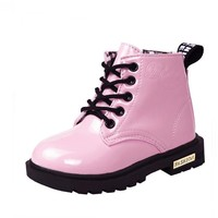 Girls Outdoors Shoes with plush snow