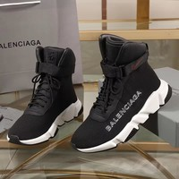 Balenciaga Speed Trainers Black With With Sole Unit Sneakers