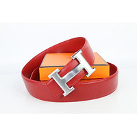Hermes belt men's and women's casual casual style H letter fashion belt464