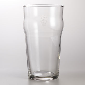 English Pint Glasses, Set of 4