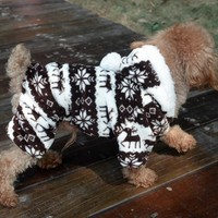Pet Dog Clothes Soft Fleece Warm Coat Fleece Pets Hooded Jacket Costume Winter Dog Clothing for Small Dogs S-XXL 39S1