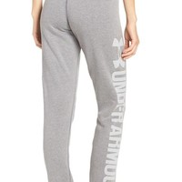 Under Armour 'Favorite' Fleece Sweatpants | Nordstrom