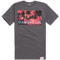 Diamond Supply Co Palm Photo T-Shirt - Mens Tee - Black