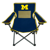 Michigan Wolverines NCAA Ultimate Adult Monster Mesh Tailgate Chair