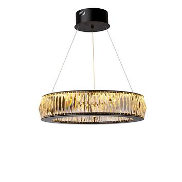 Black Ring Crystal Glass Chandelier S | Eichholtz Vancouver