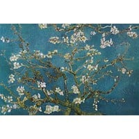 Vincent Van Gogh Almond Blossom Poster 24x36