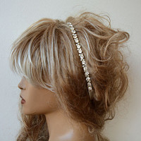 Headband,  Pearl Headband, Wedding Headband, Bridal Pearl Headband,  Wedding Accessories,  Bridal Hair Accessory