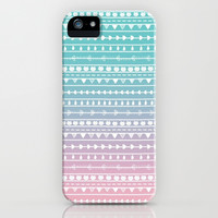 Fading Tribal iPhone & iPod Case by Pink Berry Pattern