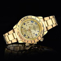 Rolex Men Fashion Quartz Watches Wrist Watch-5