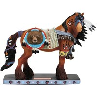 Westland Giftware Horse of a Different Color Figurine, 6.5-Inch Tall, Bear Chief Clydesdale