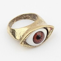 Retro Eye Detail Ring - OASAP.com