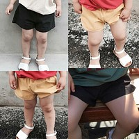 Cotton Baby Kids Shorts Children Shorts For Boys Slim Toddler Shorts Casual Clothes