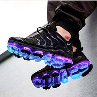 Nike Air Max Vapormax Plus TN air cushion running shoes fashion men's and women's casual sports shoes blue gradient