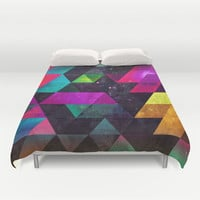 Ayyty Xtyl Duvet Cover by Spires