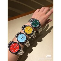 Rolex Perfect Ladies Women Men Fashion Quartz Watches Wrist Watch
