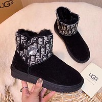 UGG thick-soled increased snow boots women's boots cotton shoes thick warm cotton boots plush shoes