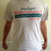 SOLD Vintage Jimmy Buffet's Margaritaville Key West Tshirt Size M