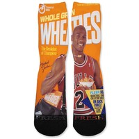 Wheaties MJ Michael Jordan Custom Athletic Fresh Socks